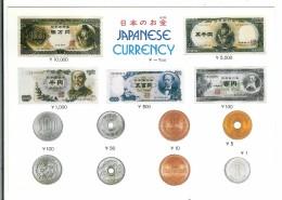 Japanese Currency - Pièces - Billets - Monnaies (représentations)