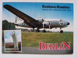 Rosiner Bomber Veteran Der Luftbrucke  / Luftschiff Bodensee II - 1946-....: Moderne
