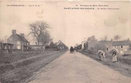 ¤¤  -   11   -  SAINT-AUBIN-des-PREAUX    -  La Route D'Avranches   -   ¤¤ - Non Classés