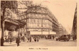 2986. CPA PUBLICITE GALERIES LAFAYETTE. ENVOI DE COMMANDE. PARIS 1926 - Publicité