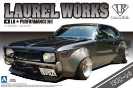 Nissan : Laurel Works 1/24 (  Aoshima ) - Cars