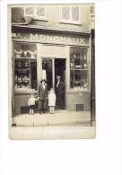Carte Photo - 80 - ABBEVILLE - MagasIn MONCHAUX - DEVANTURE VITRINE ANIMATION Ustensile De Cuisine Vaisselle - Abbeville