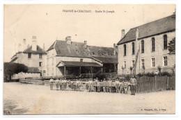 Haute-Saône : Frasne-le-Chateau : Ecole Saint-Joseph - France