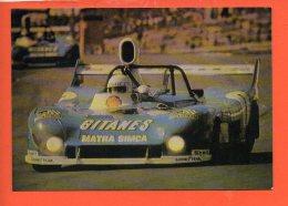 AUTOMOBILES - MATRA (1974) Sport Prototype Victorieuse à SPA - Francorchamp - Sport Automobile