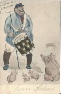 COCHONS-  HOUFFALIZE ATTRACTIONS - Schweine