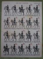 Imagerie D'Epinal - (ARMEE BELGE) - LANCIERS - Planche D'uniforme Par Pellerin & Cie à Epinal - N°529 - Stampe & Incisioni