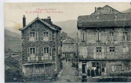 12 - SAINT SERNIN - Rue Principale, Hotel De La Croix Blanche - Otros Municipios