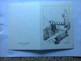 Carte Postale - Schifflange - D'schwaarz Bréck - Dessin: J.M. Scholler - Cartes Postales