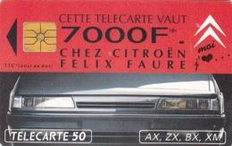 T179 - France, Phonecard, Citroen 7000F*, 50 Units, Used, 2 Scans - Frankrijk