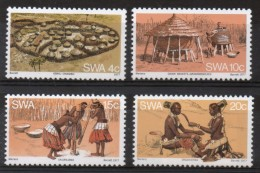 South West Africa Set To Celebrate The Ovambo People. - Stamps
