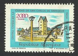 Argentina, 2000 P. 1980, Sc # 1178, Used. - Argentina