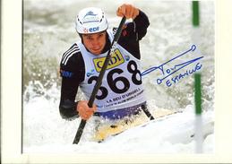 Cnoe Kayak - Tony Estanguet Champion Olympique - Autographes