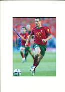 Football - Pauleta - Autographes