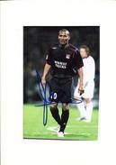 Football - Florent MALOUDA  Lyon - Autographes