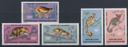 MDA-BK2-394 MINT POSTFRIS ¤ CENTRAFRICAINE 1971 5w In Serie ¤ APEN - APES - MONKEYS - MAMMALS - ANIMALS - Apen
