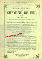 REVUE GENERALE CHEMINS DE FER ET TRAMWAYS- TRAMWAY- MAI 1906-N°5- AMERIQUE-PLAN GARE DE GAND-EAST ALTOONA - Books, Magazines, Comics