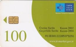 T191 - Turkey, Phonecard, Türk Telekom, 100 Units, Used, 2 Scans - Turkey