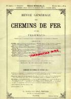 REVUE GENERALE CHEMINS DE FER ET TRAMWAYS- TRAMWAY-FEVRIER 1914-N°2-HONGRIE-INDE-NEW-YORK-JEUMONT - Books, Magazines, Comics