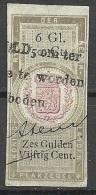 NEDERLAND Netherland Revenue Tax Plakzegel O - Fiscale Zegels