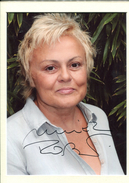 Muriel ROBIN - Autographes