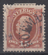 D4787 - Sweden Mi.Nr. 44 O/used - Suède