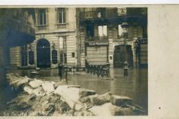 75 8ème PARIS - INNONDATION 29/01/1910 - Rue De L'Arcadie - Photo Carte - Distretto: 08