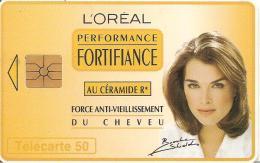 CARTE°-PUCE-PRIVEE-PUBLIC- 5OU-EN1117-GEMA-12/94-L OREAL PERFORMENCE-UTILISE-TBE - France