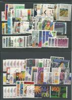 PAYS-BAS: **, N°1327 à 1423, Années 1989 à 1992, Complet Sf N°1393 à 1396, Qq Dentelures Différentes, TB - Ungebraucht