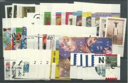 PAYS-BAS: **, N°1527 à 1566, Année 1996, Sf 1535 Et1538/9, Tous Bdf, + Distributeurs N°2 (série), TB - Ungebraucht