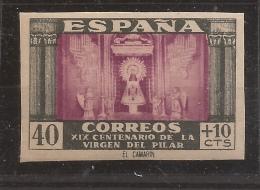 1946 Virgen Del Pilar - Tipo 1940 Edifil 998s** VC 163,00€ - 1931-50 Nuevos & Fijasellos