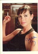 Mathilda MAY - Autographes