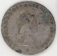 LEOPOLD·II·D·G·R·I·S·A·GER·HIE·HVN·BOH·REX - Material:  SILVER - Series: H - Roman Empire - Year 1791 - Otros – Europa