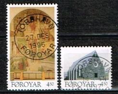 ILE FEROE /Oblitérés/Used/1996 - L'Eglise De Christian à Klaksvik - Faroe Islands