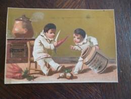 Rare Chromo Liebig 19ème  Enfant Pierrot - Liebig