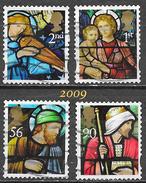 GB - Noël - Adhésifs - Oblitérés - Lot 343 - 1952-.... (Elizabeth II)