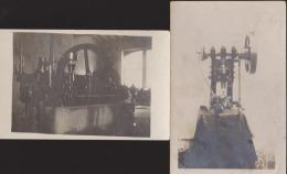 Lot 2 CPA/Photo:Machines:Ets Hazard Bard Parc Neuilly - Neuilly Sur Seine