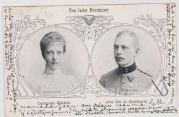 CP - AUTRICHE - 1902 - Erzherzogin Elisabeth  Et Le Prince Otto Zu Windischgräss . - Royal Families