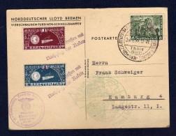 DR 1934, NSDAP - Gruppe Thale , Raketenpost Mit 2 Vignetten + Wagner, Nachttorpedo Zucker - Covers & Documents