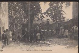 CPA:Carnoules:La Grande Fontaine - France