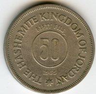 Jordanie Jordan 50 Fils 1385 - 1965 KM 11 - Jordanie