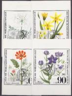 Berlin 1980 Plants & Flowers 4v Maxicards (30431) - [5] Berlijn