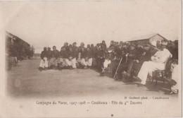 MAROC CASABLANCA Fète Du 4me Zouaves - Casablanca