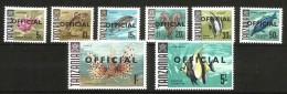 TANZANIA Pesci Fish Serie Completa Nuova ** MNH - Tanzania (1964-...)
