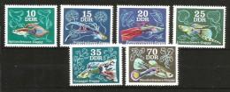DDR GERMANIA Pesci Fish Serie Completa Nuova ** MNH - [7] Repubblica Federale