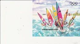 CONGO -  BLOC FEUILLET N° 33 OBLITERE  -ANNEE 1983 - Gebraucht