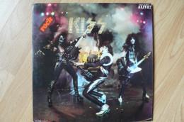 Kiss - Alive! - 33T - Double Album 1975 - Rock