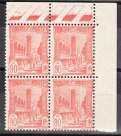 TUNISIE YT 136 Neuf ** BLOC De 4 - Unused Stamps