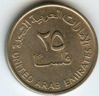 Emirats Arabes Unis United Arab Emirates 25 Fils 1393 - 1973 KM 4 - Emirats Arabes Unis