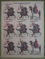 Imagerie D'Epinal - SPAHIS INDIGENES CHARGEANT - Planche D'uniforme Par Pellerin & Cie à Epinal - N°96 - Stampe & Incisioni