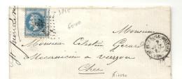 Nièvre - St Pierre Le Moutier Pour Vierzon - GC + CàD Type 15 - Marcophilie (Lettres)